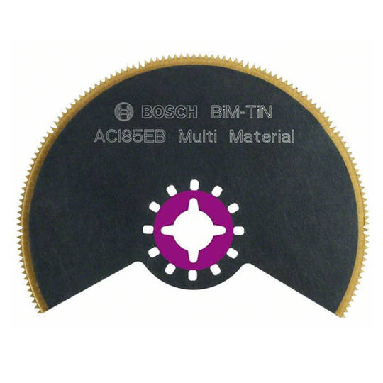 Bosch Segmented 85mm Saw Blade BIM-TiN - ACI 85 EB