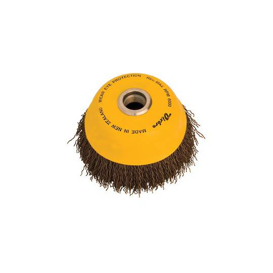 Dixbro 125mm Crimped Wire Cup Brush