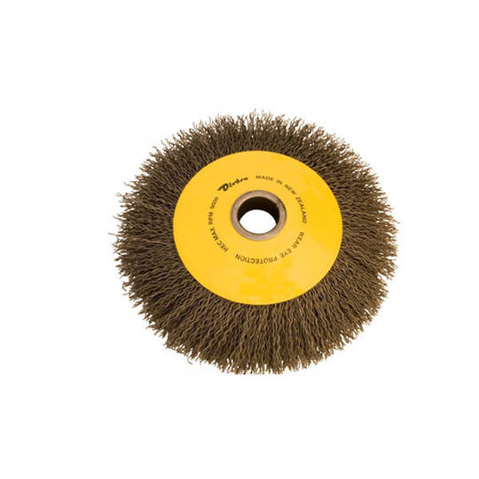 Dixbro 175mm Crimped Wire Bevel Brush