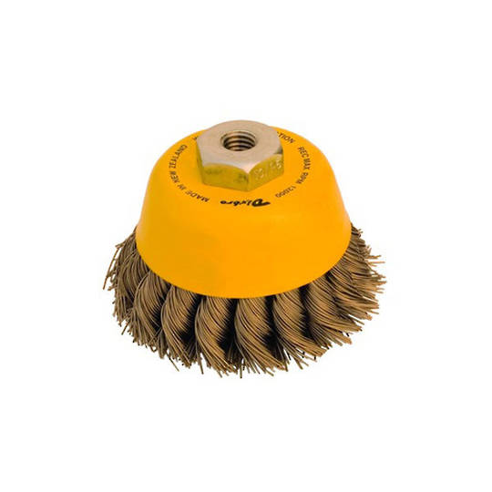 Dixbro 75mm Twist Knot Cup Brush
