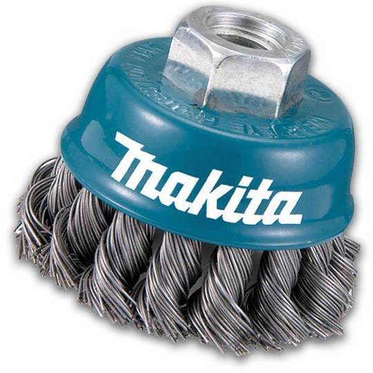 Makita 75mm Twist Knot Wire Cup Brush