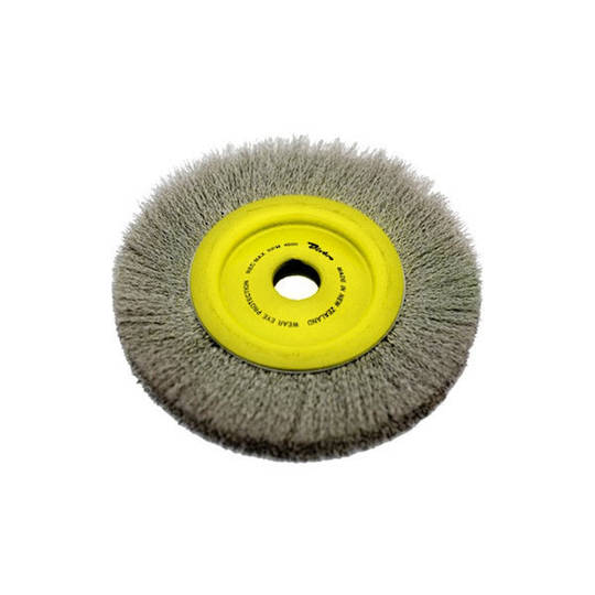 Dixbro 200mm Steel Crimped Wire Wheel Brush