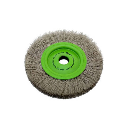 Dixbro 200mm S/S Crimped Wire Wheel Brush