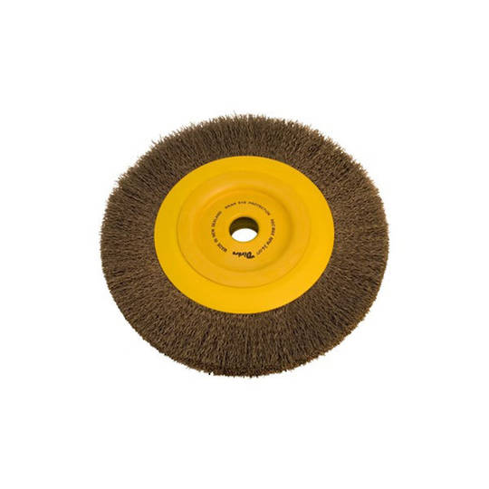 Dixbro 250mm Crimped Wire Wheel Brush