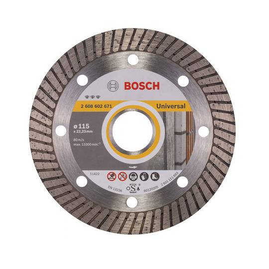 Bosch Best Turbo Universal Cutting Discs