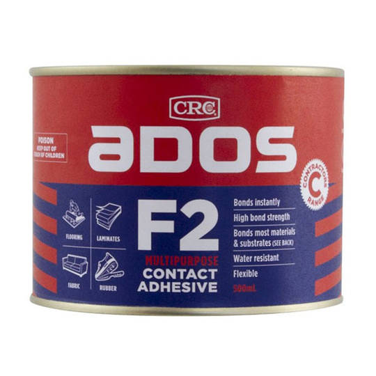 F2 Contact Adhesive 500ml Ados