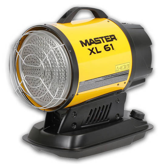 Master Infra Red Diesel Heater 17kw XL61