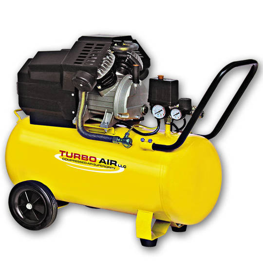 Turbo Air 3HP Air Compressor 50L Direct Drive