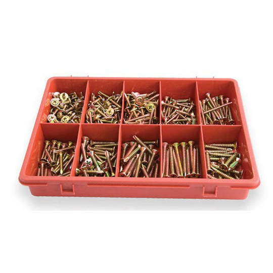 Assorted Self Tapping Screws 340pc