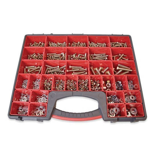 Assortment Nuts,Bolts & Washers 825pc
