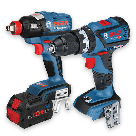 Bosch 18V Brushless Drill & Wrench/Driver 8AH Combo