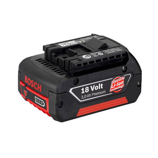 Bosch 3.0Ah 18v Lithium Ion Battery