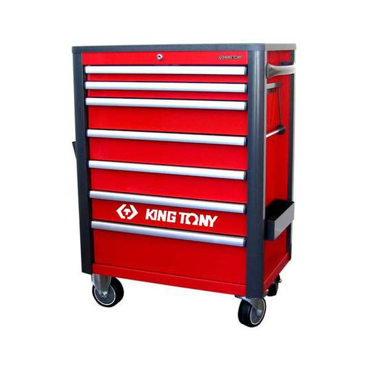 King Tony 7 Draw Tool Trolley