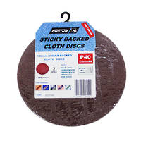 Norton Cloth Sticky Back Sanding Discs