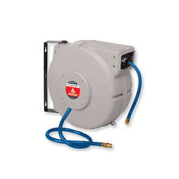 Alemlube Retractable 15m Air Hose Reel