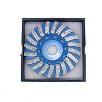 Clipper Diamond Swirl Cup Grinding Wheel