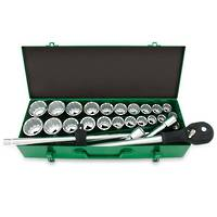 "TopTul 3/4""Dr Socket Set 26pc Combination"
