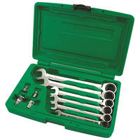 TopTul 10pc Geared Wrench Kit