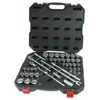 "Powerbuilt 1/2"" Dr 44pc Combination Socket Set"