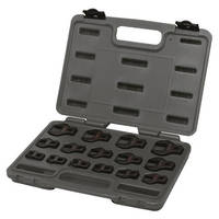Toledo 15pc Crowsfoot Wrench Set 3/8dr