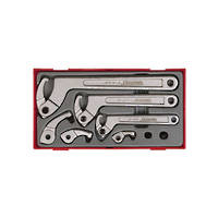 Teng Tools 8pc Hook & Pin Wrench Set