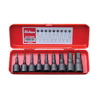 "Koken 3/8"" Dr Inhex Socket Set In Case - 9pc Imperial"