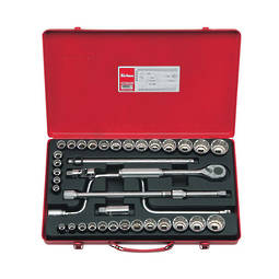 "Koken 1/2"" Dr Socket Set - 38pc"