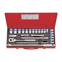 "King Tony 25pc 1/2""Dr Metric Socket Set"