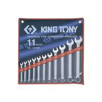 King Tony 11pc R&OE Wrench Set 8-24mm