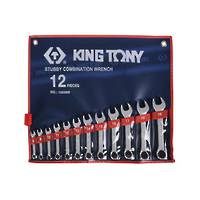 King Tony Stubby R&OE Wrench Set 8-19mm