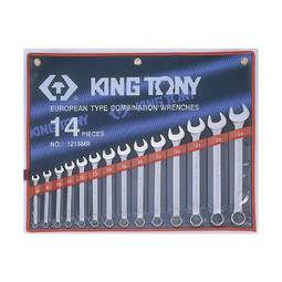 King Tony 14pc R&OE Wrench Set 8-24mm