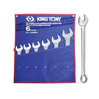 King Tony 6pc R&OE Wrench Set 34-50mm
