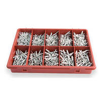 Assortment Rivets Aluminium 595pc