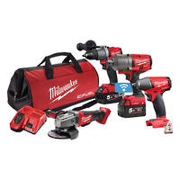 Milwaukee M18 FUEL 4pc Combo Kit
