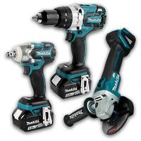 Makita Brushless Impact Wrench & Drill 5.0Ah Combo