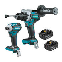 Makita 2pc 18V Black Brushless Drill & Impact Driver Combo