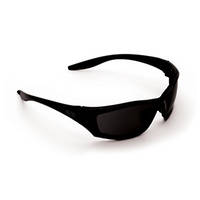 ProChoice Safety Glasses Mercury Black Smoke