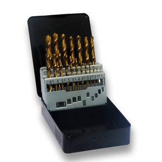 Savage 25pc Metric Titanium Coated Drill Set in Case
