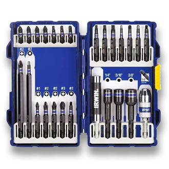 irwin 26pc impact bit set bits george henry co ltd christchurch new zealand. Black Bedroom Furniture Sets. Home Design Ideas