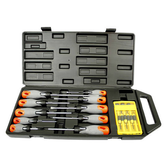 fuller 16pc screwdriver set screwdrivers george henry co ltd christchurch new zealand. Black Bedroom Furniture Sets. Home Design Ideas