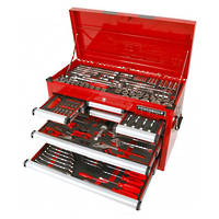 Powerbuilt 198pc Tool Chest & Assorted Tools, Racing Series