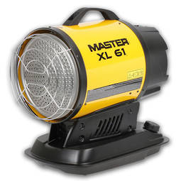 Master Infra Red Diesel Heater 17kw XL6